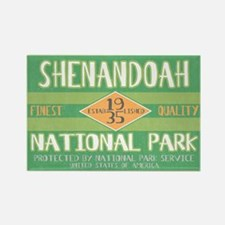 Shenandoah National Park (Retro) Rectangle Magnet