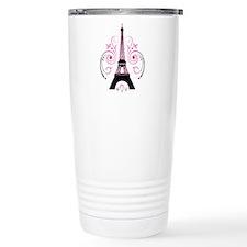 Eiffel Tower gradient swirl design Travel Mug