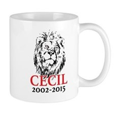 R.I.P. Cecil the Lion Mugs