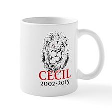 R.I.P. Cecil the Lion Mugs
