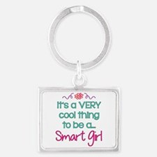 Smart Girl... Landscape Keychain