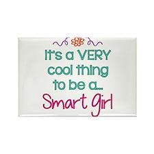 Smart Girl... Rectangle Magnet (10 pack)
