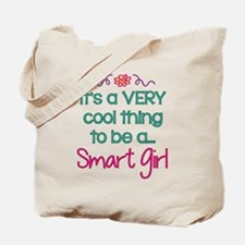 Smart Girl... Tote Bag