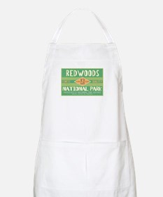 Redwoods National Park (Retro) BBQ Apron