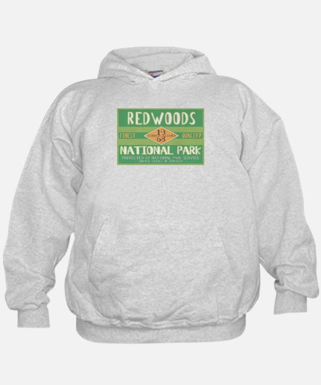 Redwoods National Park (Retro) Hoodie