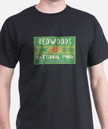 Redwoods National Park (Retro) T-Shirt