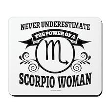 Scorpio Woman Mousepad