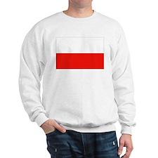 Polish Flag Sweatshirt