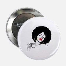 "Afro Diva  2.25"" Button"