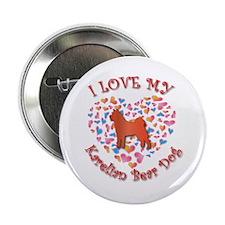 "Love Karelian 2.25"" Button (100 pack)"