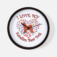 Love Karelian Wall Clock
