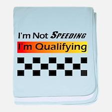 Not Speeding - Qualifying baby blanket
