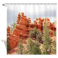 Red Canyon, Utah, USA 12 Shower Curtain