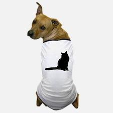 Norwegian forest cat silhouette Dog T-Shirt