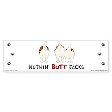 Nothin' Butt Jacks Bumper Car Sticker