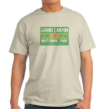Grand Canyon National Park (Retro) Light T-Shirt