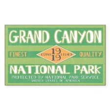 Grand Canyon National Park (Retro) Decal