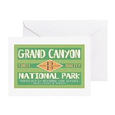 Grand Canyon National Park (Retro) Greeting Card