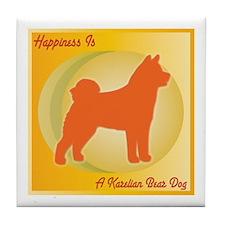 Karelian Happiness Tile Coaster