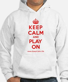 Funny Keep calm and play bass Hoodie