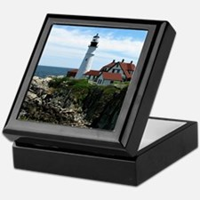 Portland, Maine Lighthouse Keepsake Box