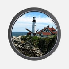 Portland, Maine Lighthouse Wall Clock