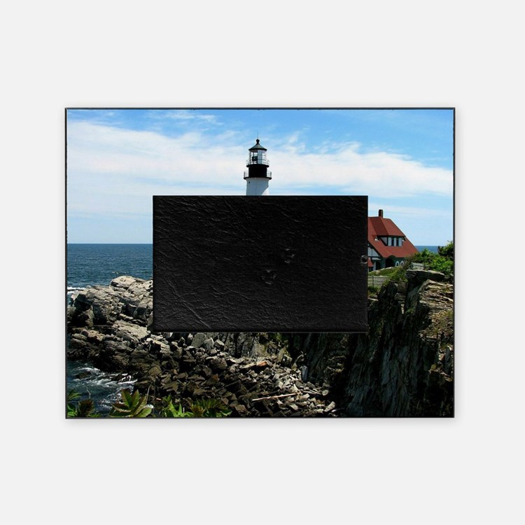portland maine lighthouse picture frame