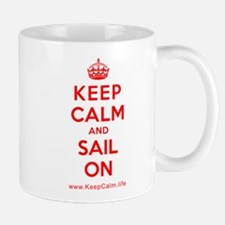 Cute Keep calm sail Mug