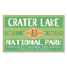 Crater Lake National Park (Retro) Decal