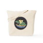 Sailing Ship w/ Trees Aboard Tote Bag