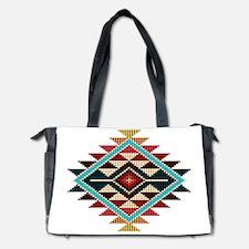 Native Style Rainbow Sunburst Diaper Bag