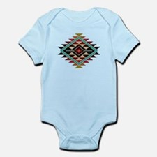 Native Style Rainbow Sunburst Infant Bodysuit
