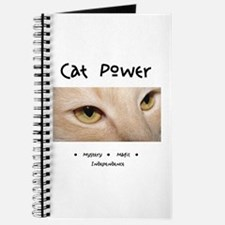 Cat Power Mystery and Magic Journal