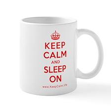 Cute Keep calm and sleep in Mug