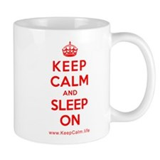 Cool Keep calm sleep Mug
