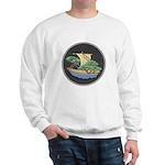 Sailing Ship w/ Trees Aboard Sweatshirt