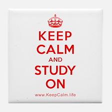 Cool Study Tile Coaster