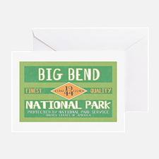 Big Bend National Park (Retro) Greeting Card