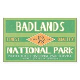 Badlands national park Single