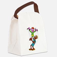Puppet Buddies Canvas Lunch Bag