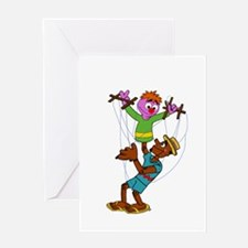 Puppet Buddies Greeting Cards