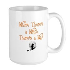 HALLOWEEN - WHERE THERE'S A WITCH THERE Mug