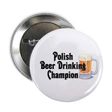 "Polish Beer Champion 2.25"" Button (10 pack)"