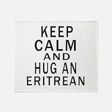Keep Calm And Eritrean Designs Throw Blanket