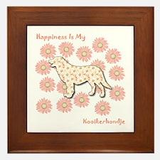 Kooiker Happiness Framed Tile