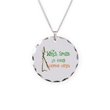 HALLOWEEN - WITCH SPELLS 25  Necklace