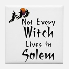 HALLOWEEN - NOT EVERY WITCH LIVES IN  Tile Coaster