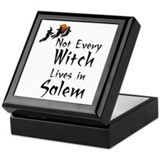 HALLOWEEN - NOT EVERY WITCH LIVES IN  Keepsake Box
