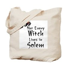 HALLOWEEN - NOT EVERY WITCH LIVES IN SALE Tote Bag