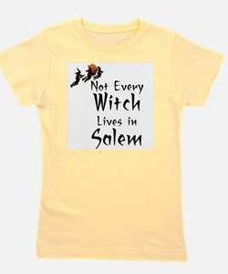HALLOWEEN - NOT EVERY WITCH LIVES IN SA Girl's Tee